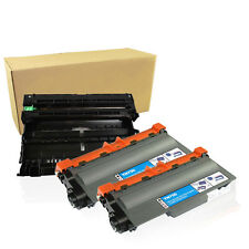 2 TN750 Toner + 1 DR720 Drum For Brother MFC-8710DW HL-5470DW 5450DN New