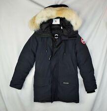 Mens Canada Goose Langford Size XS Fusion Fit Black Jacket Coat Coyote Parka
