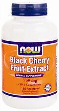 Black Cherry Fruit Extract, NOW, 180 vcaps