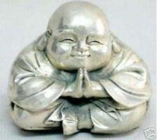 Tibet Silver Happy Buddha statues