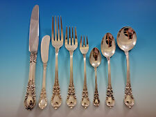 American Victorian by Lunt Sterling Silver Flatware Set 18 Service 147 Pieces