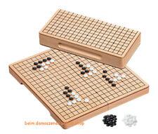 Go and Gobang Buche Holz Kassette Brett mit Spielsteine Bang 40,5 X 29 X 2,5 cm