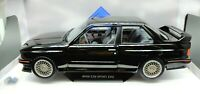 Model Car Scale 1/18 BMW E30 M3 diecast solido vehicles RC Model Black
