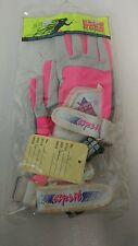 Ho sports Neon Water Ski Hydro Slide Wake Boarding Gloves Vintage x-small 90's