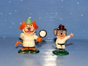 Tinykins Super Snooper and Blabber Mouse Disneykins Marx Figurines QuickDraw