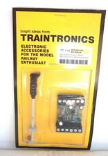 Traintronics 00 Scale 4 Aspect Colour Light Signal.Rd/Yw/Gn/Yw.+Right Feather.