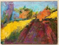 SISSY ALSABROOK California Abstract Expressionist Landscape Juan Guzman Style