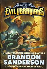 Brandon Sanderson ALCATRAZ VS THE EVIL LIBRARIANS hc 1st Starscape Edition NEW