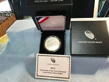 2013 Girl Scout Silver UNC Dollar w/Box & COA