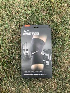 NEW Nike Pro Closed Knee Sleeve 2.0 Patella Black Adult UniSex Size Large