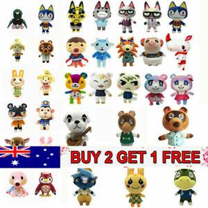 Festival Gift Animal Crossing Raymond Soft Plush Toy Stuffed Doll Figure Kids AU