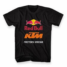 New Custom KTM Redbull Fictory Racing Men's T-shirt Size M - 3XL