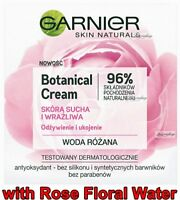 Botanical Cream - 50ml Rose Floral Water Moisturizing Cream GARNIER