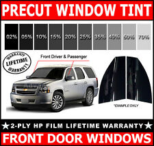 2ply HP PreCut Film Front Door Windows Any Tint Shade VLT for Ford SUV Glass