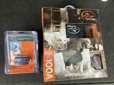 New listing SportDog In Ground Electric Fence With Extra Reciever