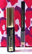 ESTEE LAUDER Pure Color Intense Kajal Eyeliner Blackened Black + MASCARA + Bag
