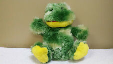 "13"" Green Frog, Plush Toy, Doll, Stuffed Animal"