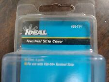 IDEAL 89-514 TERMINAL STRIP COVER CLEAR 4 POLE NEW IN PACKAGE LOT OF 5