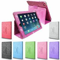 Diamond Bling Sparkly Leather Case Cover For Apple iPad Air A1474 A1475