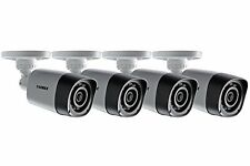Lorex Lbv1521-c 720p HD Night Vision Security Bullet Camera Weatherproof 4 PACK
