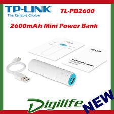 TP-Link TL-PB2600 Portable USB Power Bank Charger 2600mAh mini mobile battery