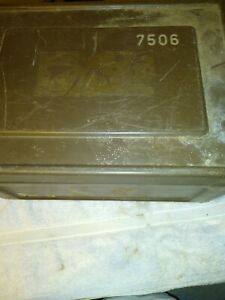 Green Metal Ammo Box Holds 1260 Rounds 308 Winchester Military