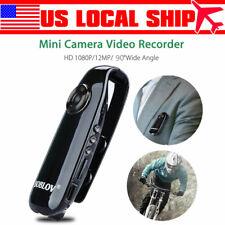 Mini HD 1080P Sports Camera Audio Recording Dash DVR 90° Wide Angle For Driving