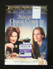 August Osage county DVD with digital HD ultraviolet copy