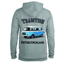 Hoodie Barkas B1000 Kapuzenpullover Tradition Ostdeutschland Sweatshirt Pulli