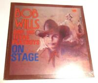 On Stage  by Bob Wills & His Texas Playboys LP SEALED! Western Swing