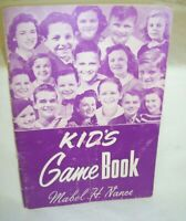 1955 Kid's Game Book by Mabel H. Nance  Bible Games