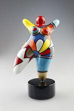 """Hommage an Niki de Saint Phalle - Skulptur Figur Dicke Frau MOLLY """"Nana"""" medium"""