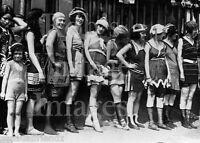 Vintage Flapper Women Swimsuits Photo 1920s Flappers Jazz Prohibition