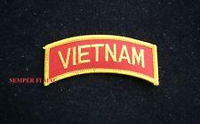 VIETNAM TAB NAM PATCH US ARMY NAVY AIR FORCE COAST GUARD MARINES VETERAN BIKER