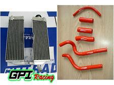 L&R Aluminum Radiator & hose HONDA CR500R CR500 1991-2001 92 93 94 95 96 1997