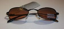 Aspex Oregon sports fashion sunglasses mens ladies metal  brown Oval lens cat2