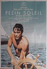 PLEIN SOLEIL / PURPPLE NOON - ALAIN DELON - BOAT - REISSUE LARGE FRENCH POSTER