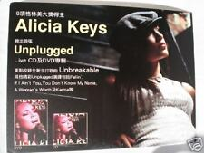 "Alicia Keys ""Unplugged"" Hong Kong Promo Display -Sweet!"