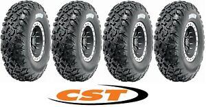 4x ATV Reifen CST Dingo  27x9-14  &  27x11-14 Reifensatz CU47 Allrounder Radial