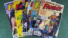 Fanboy #1-6 Complete Series Set Superman Green Lantern JLA Batman Wonder Woman