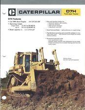 Equipment Brochure - Caterpillar - D7H - Track-type Tractor - c1986 (E3985)