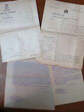 Incartamento delibere lettere FRANCESCO GIRARDI MUGNANO DI NAPOLI intitolazione
