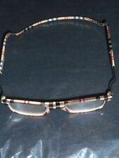 Lesebrille-Magnetverschluss-Halsbügel Klick-Mod.Top Design ( 2,25 ) Dioptrien