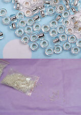 10g Silver sew on Bridal Wedding Round beads Sewing Any purpose diy 2mm for sale