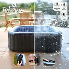 More details for hot tub inflatable spa 2021 mspa tekapo square 4 & 6 person inc uv sanitizer