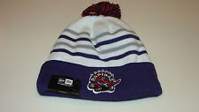 e1cf63864b2 Toronto Raptors Cap Hat NBA Basketball New Era Beanie Toque Team Hook Up  Purple
