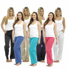 Unbranded Linen Mid Rise Regular Size Trousers for Women