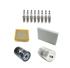 Fits Audi RS6 2003-2004 Air Cabin Fuel Oil Filters Spark Plugs Tune Up Kit