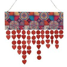 Bohemia Style Wooden Hanging Calendar Plaque Birthday Reminder Sign 50 Discs