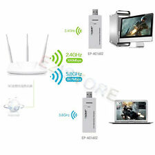 5G 2.4G Dual Band 1200Mbps 802.11AC a/b/g/n Network USB 3.0 Wi-Fi Adapter 2T2R